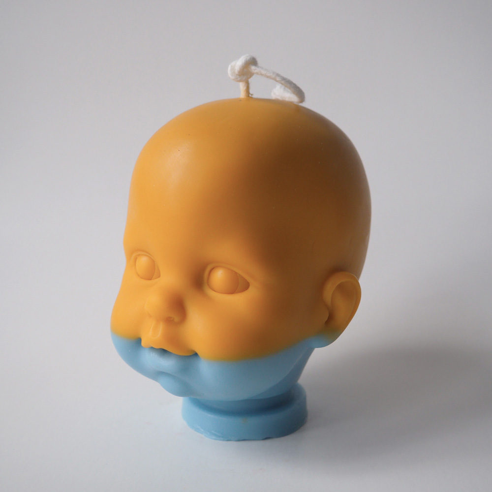 Danny Torrance Soy Wax Doll Head Candle