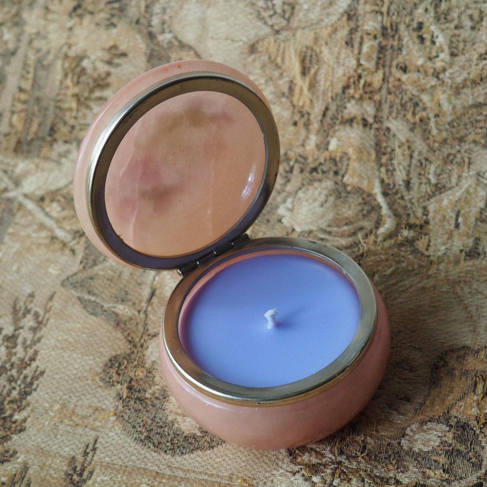 Vintage Alabaster Soy Wax Candle