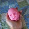 Kurt Soy Wax Doll Head Candle